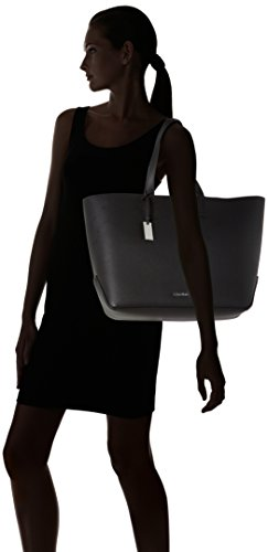 Black 001 woman bag LARGE SHOPPER K60K603790 KLEIN CALVIN EDIT hand zHPfg