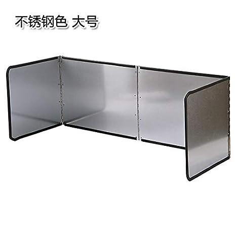 AAPP SHOP Cocina galvanizado Deflector de Aceite Plegable ...