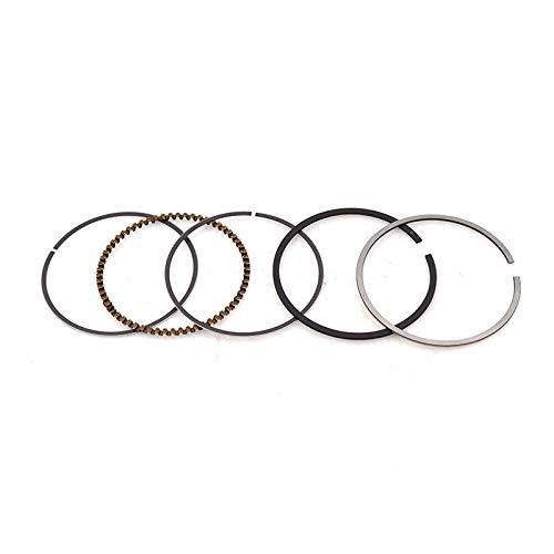 Motorcycle Std Piston Ring Bore 57 Mm Size 1.01.02.0 Mm For Honda Ch150 For Suzuki En125 En150 Pulsar 150 Engine Parts (1 Set Chromeplate)