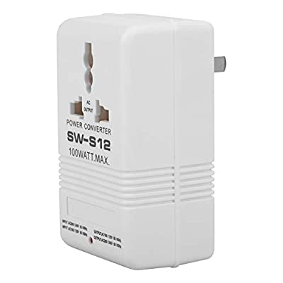 Voltage Converter Adapter 100W 110V/120V to 220V/240V Travel Step Up & Down Voltage Converter Transformer 55-60HZ (CN standard plug)