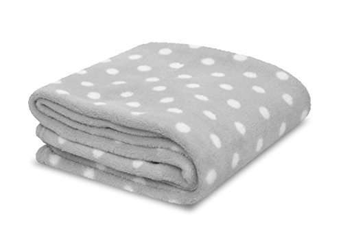 Little-Starter-Plush-Toddler-Blanket-Grey-Dot