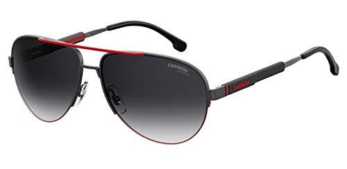 Sunglasses Carrera 8030 /S 0SVK Semi Matte Ruthenium Black / 9O dark gray gradie