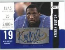 2008 Sage HIT Autographs #A22 Tashard Choice - Dallas Cowboys (RC - Rookie Card Insert - Autographed Card)(Football Cards)