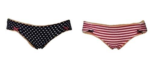 4f92afaad71e J&T Ladies Bikini Briefs Pack of 2 Ex-Primark Women's Knickers Pants  Underwear - UK