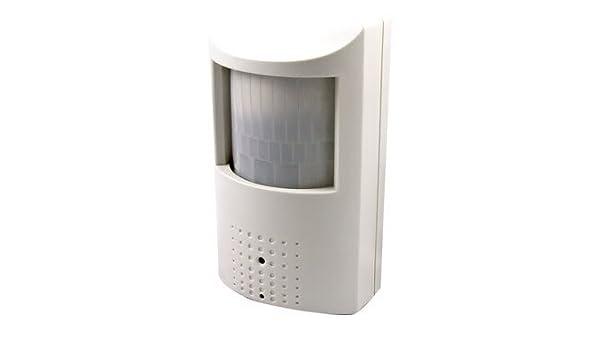 Oculta PIR sensor de movimiento detector de aspecto Covert Cámara oculta espía CCTV 1/3