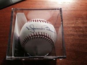 Mariano Rivera Autographed 100th Anv. Yankee Ball JSA Coa and ()