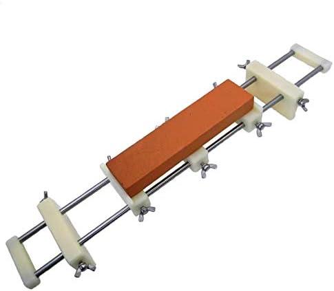 シンクブリッジ ナイロン製 軽量で頑丈 砥石台シンク適用 滑り止め 万能砥石スタンド 砥石ホルダー 保持台 センター付 サイズ調整可能
