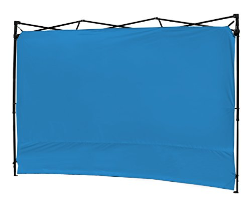 XGEAR Instant Canopy Side Wall Sunwall for 10×10 Feet Straight Leg Pop UP Canopy, 1 Pack Sidewall Only, Blue