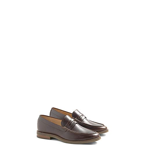 (SPERRY Men's Gold Exeter Penny Loafer Amaretto Leather 10.5 M US)