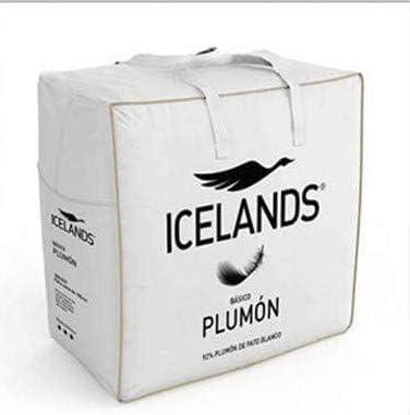 Icelands Relleno NÓRDICO BÁSICO 92% PLUMÓN 275 GRS/M2 (150X220)