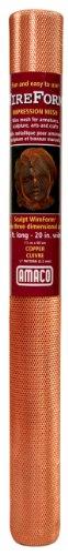 Amaco 20 Inch x 5 Feet Impression Wire Form Metal Mesh Roll by Wireform (Image #1)