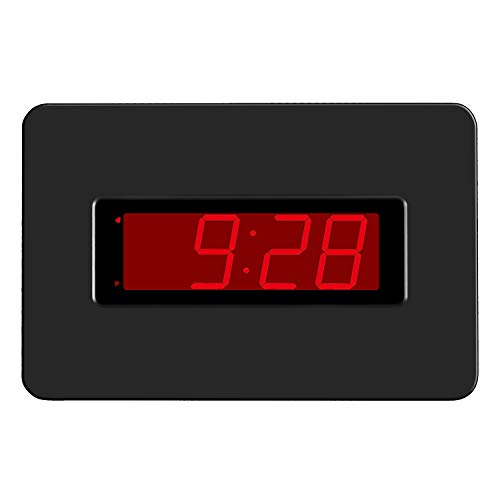 KWANWA Kawanwa Digital Wall Clock Large Display Battery Operated Alarm Snooze Supported for Bedroom, Office,Table and Desk