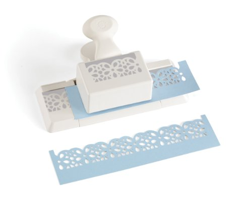 Daisy Design Paper (Martha Stewart Crafts Deep Edge Punch, Daisy Lace)