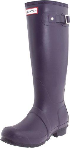 Hunter Original Tall Welly Boot,Aubergine,Women's 6 M/Men's 5 M