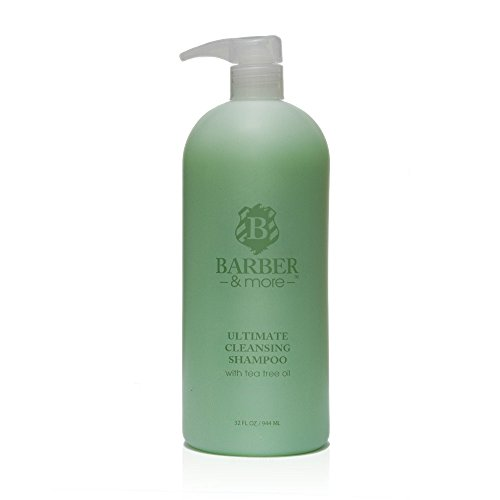 Barber & More Ultimate Cleansing Shampoo with Tea Tree Oil (32 fl oz) -  tto