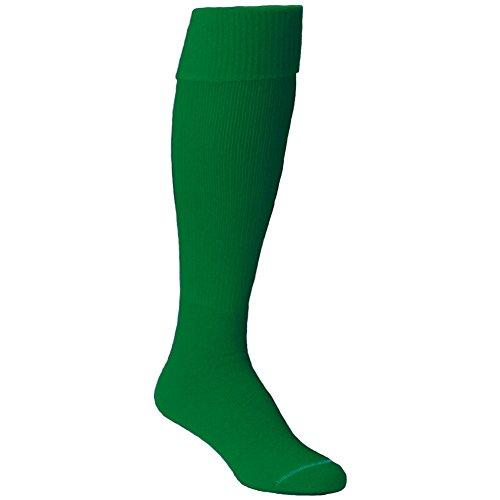 Twin City Team Sock Solid Youth Shoe Size 12-4 Kelly - Footwear Green Kelly