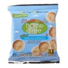 Home Free Organic Gluten Free Vanilla Mini Cookies, 1.1 Ounce - 10 per case. by HomeFree