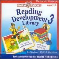 Biblioteca de desarrollo de lectura de Reader Rabbit 3