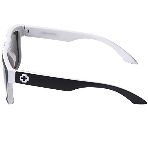 f5d61dab17 Gafas De Sol Hombre Mujer Wayfarer 81016(Blanco) 70% OFF - www ...