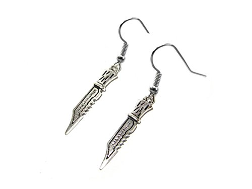 Costume Demon Supernatural (Supernatural Demon Dagger Earring Dangles In Gift Box from)