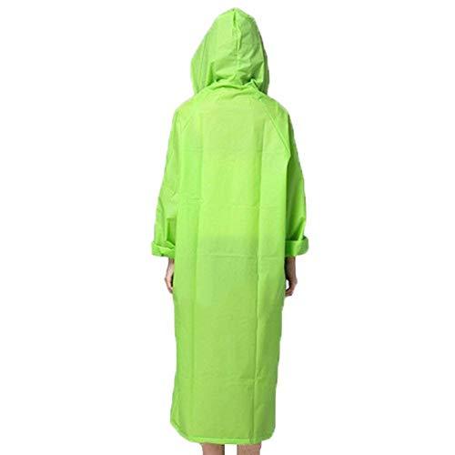 Capucha Chaqueta Los Outdoor Moda Grün Sólidos Con De Colores La Impermeable Lluvia Impermeables 4wq4rZY
