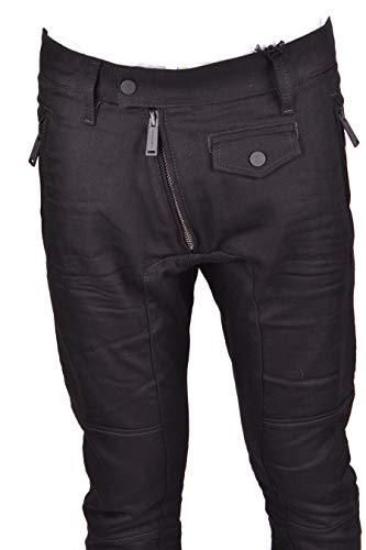 Dsquared2 Cotone S74lb0403s30564900 Nero Uomo Jeans rw1qFr