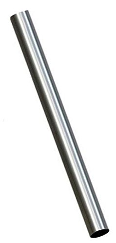 ALUMINIZED STEEL STRAIGHT EXHAUST PIPE (5 FT) LONG (4
