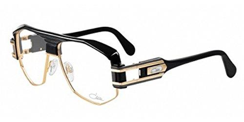 Cazal 671 Eyeglasses 001 Shiny Black Gold / Clear Lens 59 - Clear Cazal