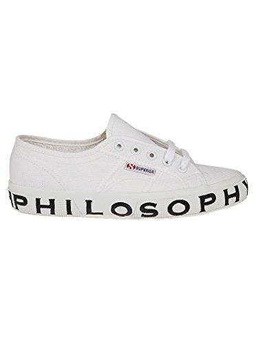 Baskets Philosophy Tissu 32012170A0001 Blanc Femme PXxPwS1q7