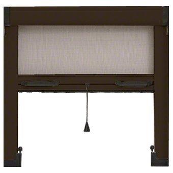 Bronze 39'' Retractable Window Screen