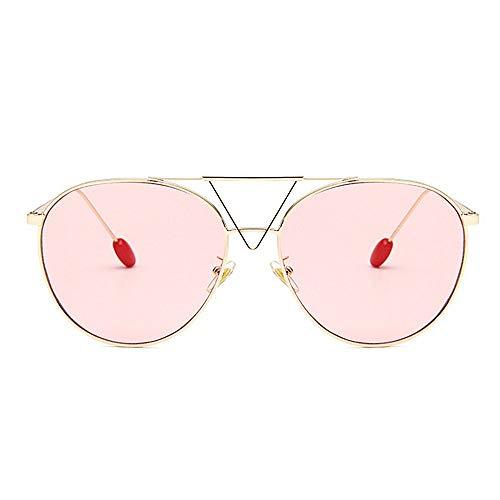 Petite GWF de de Femmes Triangle de Protection Dames Conduite Pink des de pour Couleur Soleil de Gray décoration personnalité Romantique de Soleil Romantique Lunettes Lunettes Wrq1p0xnr