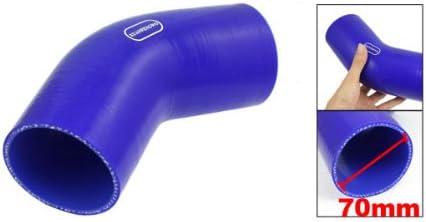 45 degrés silicone coude 45 ° ID 80mm silicone tuyau coude LLK turbo tuyau-Bleu