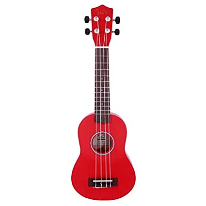 Lovinland 21'' Soprano Ukulele Kids Guitar Toys Rosewood Fingerboard with Bag
