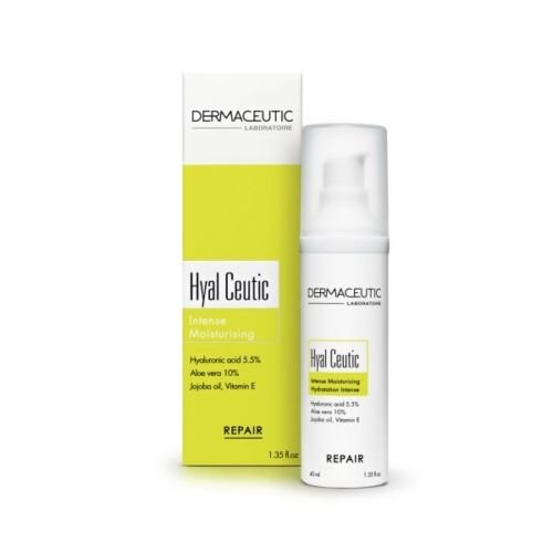 DERMACEUTIC HYAL CEUTIC INTENSE MOISTURIZER ANTI AGING SKIN CARE by DERMACEUTIC