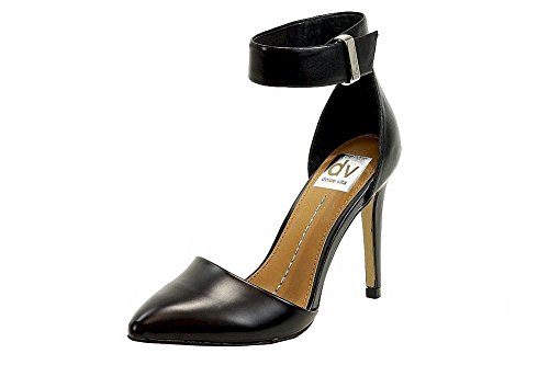 - DV By Dolce Vita Odetta Womens Size 9 Black Leather Pumps Heels Shoes