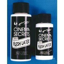 Cinema Secrets Flesh Latex, 1 oz (Prosthetic Clown Costume)