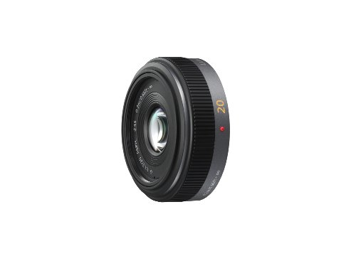 31P5t8S6YFL - Panasonic Lumix G H-H020 20mm f/1.7 Aspherical Pancake Lens for Micro Four Thirds Interchangeable  Digital SLR Cameras