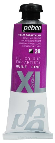 Pebeo Studio Xl Fine Oil 37-Milliliter, Cobalt Violet Light (37 Ml Cobalt Violet)