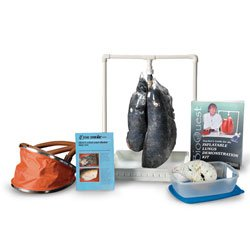 Nasco BioQuest Simulated Smoker's Lungs Demonstration Kit - Dissection & Science Education Materials - LS03767 (Inflatable Lungs Kit)