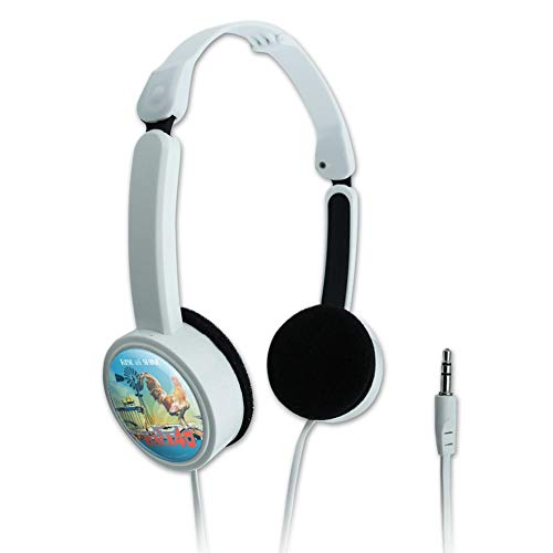 GRAPHICS & MORE Back 40 Barn Keepin' It Rural Rise and Shine Rooster Farm Farming Novelty Travel Portable On-Ear Foldable Headphones