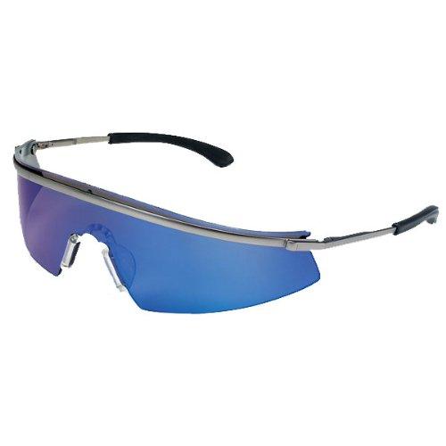 Crews 135-T3118B Triwear Metall Blue Diamond Objektiv Schutzbrille