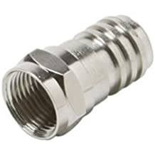 Valley Enterprises® F Crimp-On RG-6 Coax Cable Connectors Pack of 30
