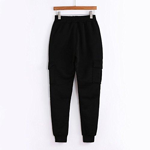 Spbamboo Mens Pants Slacks Casual Elastic Joggers Sport Baggy Pockets Trousers by Spbamboo (Image #2)