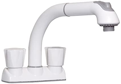 CLEANFLO 481, Pull Out Laundry Faucet, 3 Hole Installation, High 8 ...