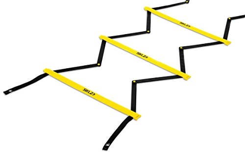 SKLZ Quick Ladder Pro Tangle-Free Agility and Footwork Trainer