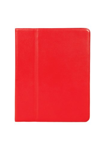 Hammerhead Premium Leather Case for iPad 2/3 - Red (3/ham11394)