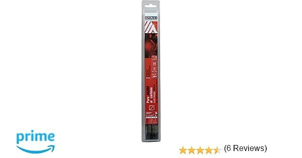 SOLTER - Electrodos de rutilo E6013 (1,6 x 300 mm, 35 unidades): Amazon.es: Industria, empresas y ciencia