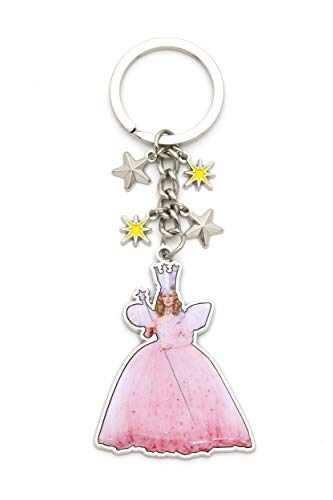 Wizard of Oz Glinda The Good Witch Dangling Key Chain, Officially Licensed]()