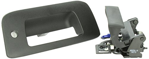 BOLT 5922987 Original Factory Tailgate Handle for Silverado & Sierra with BOLT Lock Cylinder Plate Sierra Part