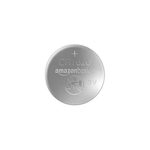 AmazonBasics CR1620 Lithium Coin Cell - Pack of 2